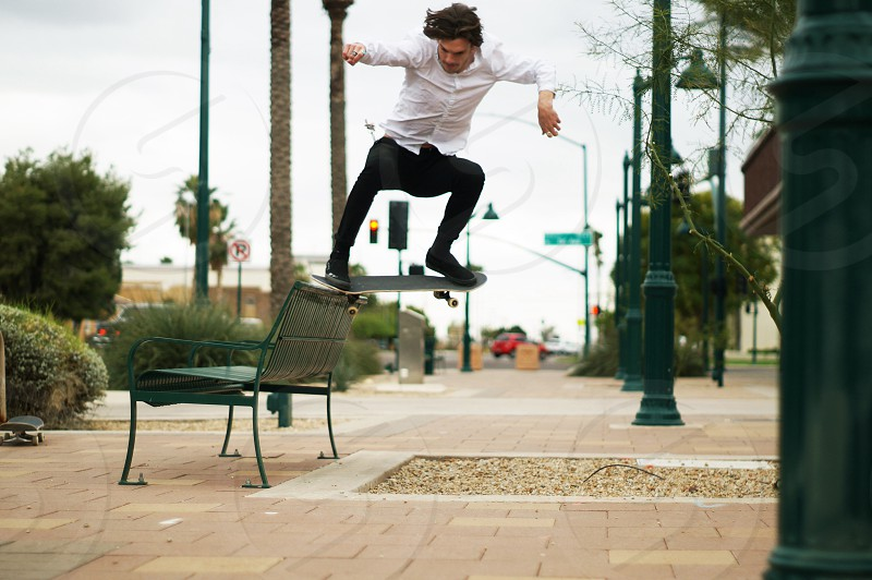 Skateboarding arizona action sports photo