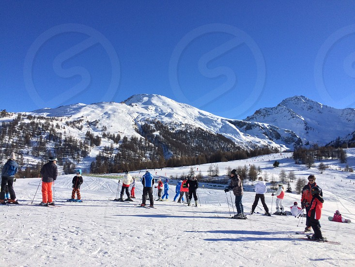 Sestriere (Turin Italy) December 2016 photo