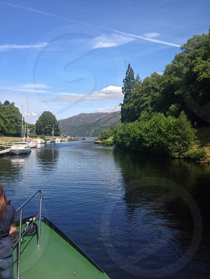 Entering Loch Ness in August 2014 photo