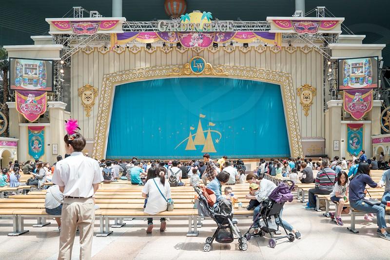 Lotte World Amusement Park Seoul Korea photo