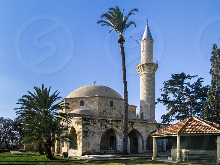Hala Sultan Tekke or Mosque of Umm Haram Larnaca Cyprus photo