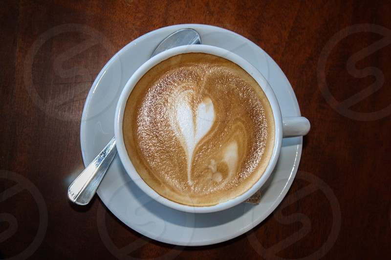 Heart coffee photo