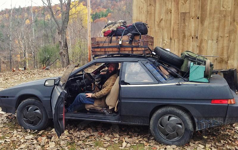 Road Trip. Subaru 90's bear hide copilot lift kit 90's freedom beard traveler open road photo