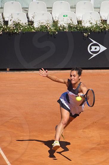 Martina Trevisan italian tennis player - Rome - Italy photo