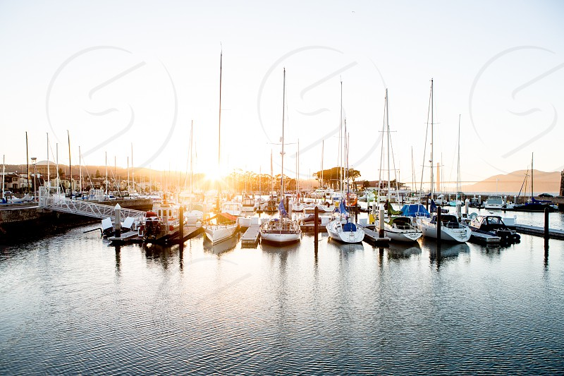 Boats Boating Luxury Rich Ocean California Exploration Fitness Lifestyle photo