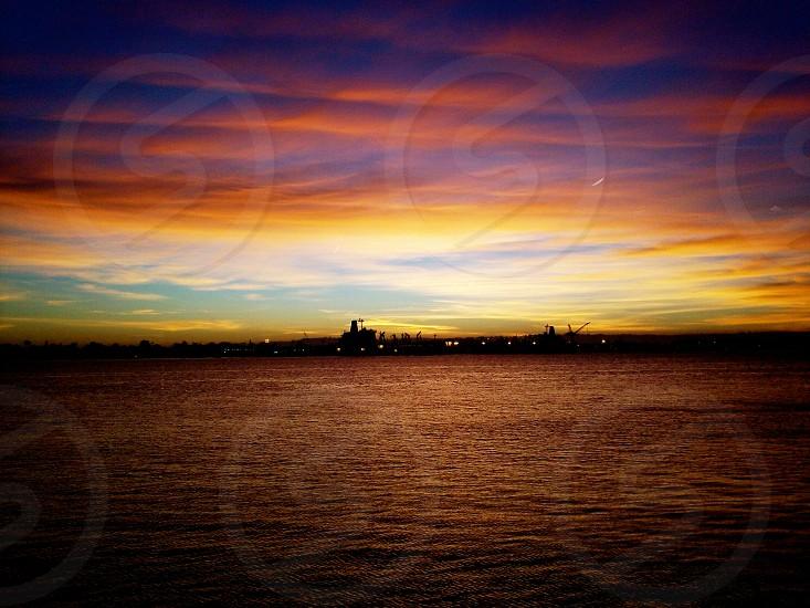 Tijuana Mexico sunset photo