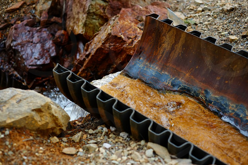 Acid Mine Runnoff photo