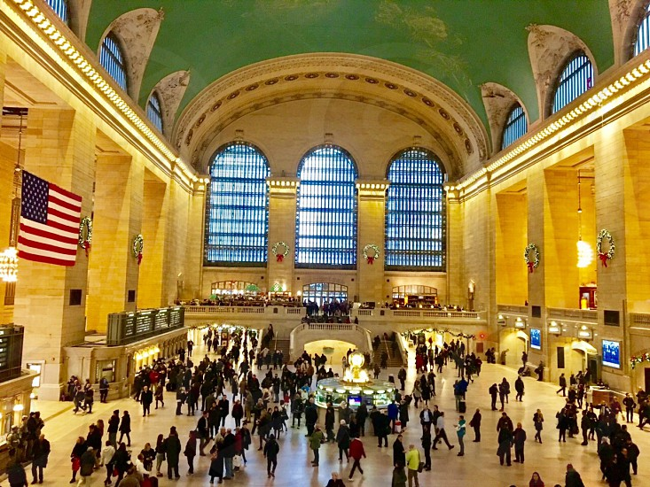 The hustle and bustle of Grand Central Station! photo