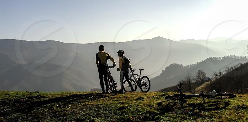 Friends - Cindrel mountains Apa Cumpanita area Sibiu County Romania 1200m 02-11-2013 photo