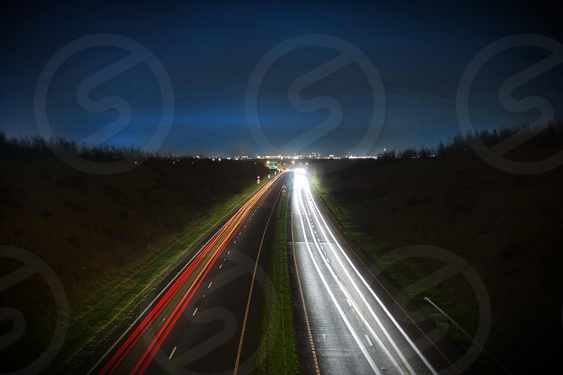 Coming or going.....long exposure Nikon d7000 18mm  photo