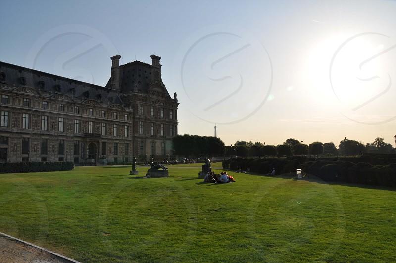 castle front yard photo