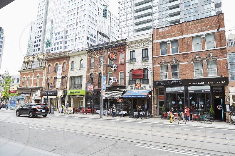 King Street West Restaurants Entertainment District Toronto photo