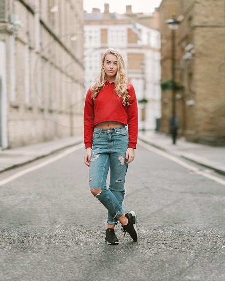 Amber in Victoria London. photo