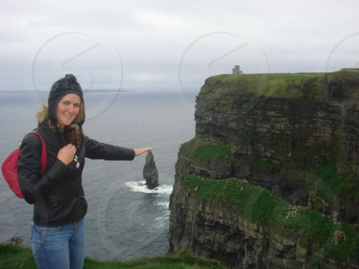 Ireland spectacular Cliffs of Moher amazing view photo