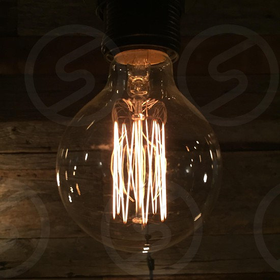 led bulb in close up photography photo