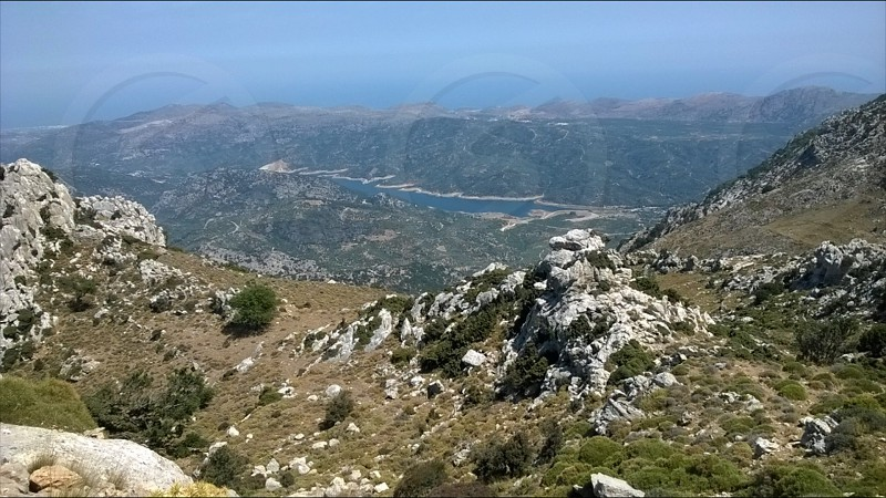 Crete mountains photo