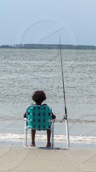 Moments in Tybee Island GA USA photo