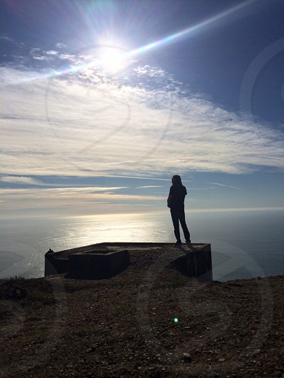 Thinking with your eyes open. Marin Headlands  photo