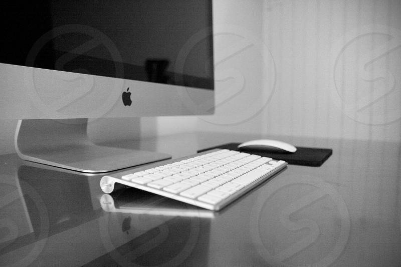 Mac desktop computer  photo