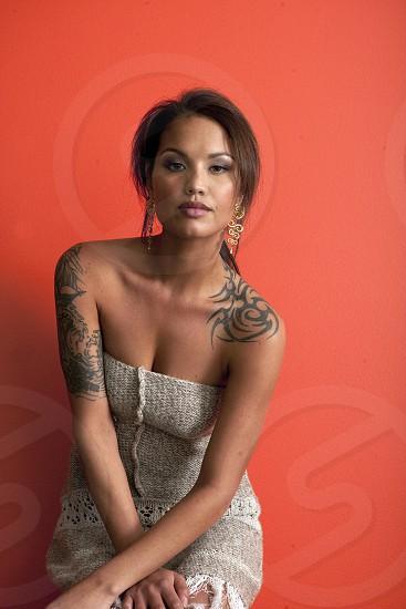 Female tattoo photo