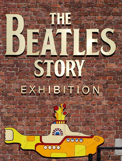 The Beatles Story exhibit in Liverpool England photo