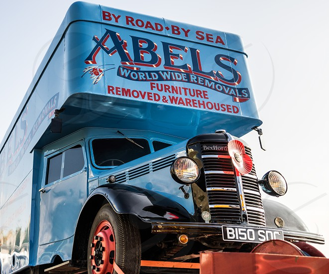 Removal Truck on a Trailer in Brighton photo