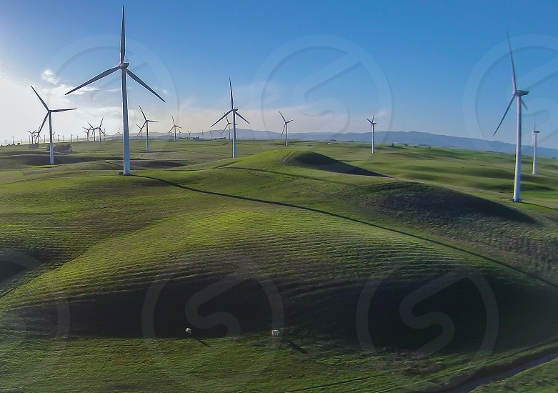 Rolling Hills and Windmills of Rio Vista  photo
