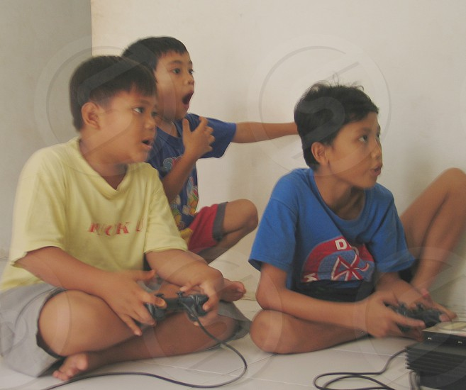 Kids Games Excited Education Entertainment People photo
