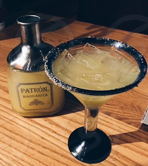 Patron margarita cocktails photo