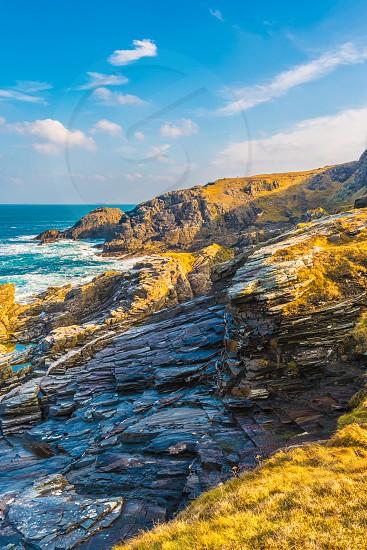 Malin Head in County Donegal Ireland. photo