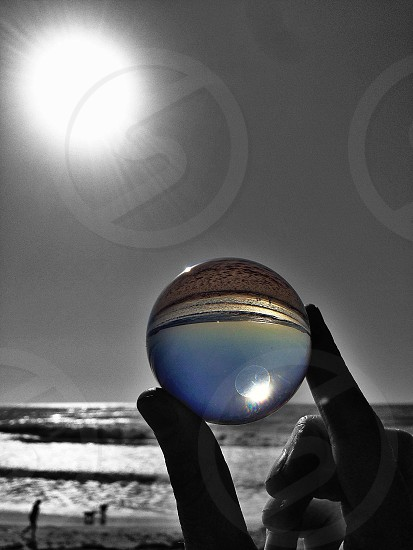 clear marble photo