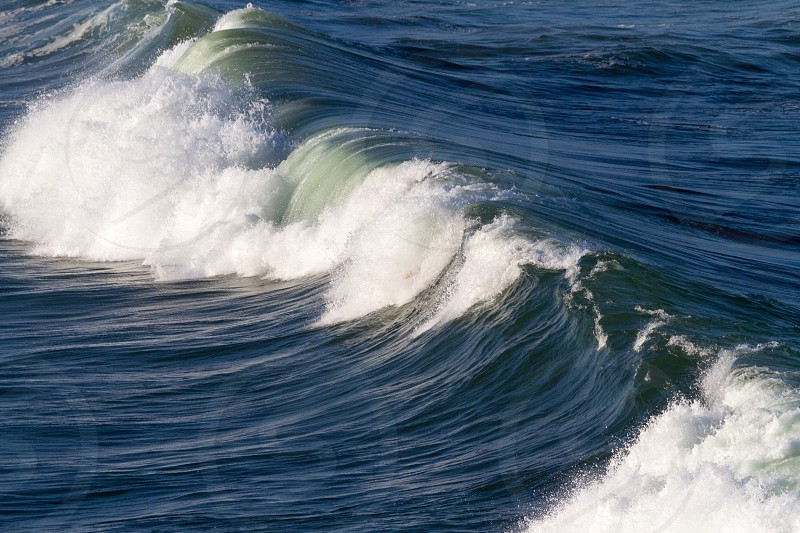 Energy power water wave swell ocean photo