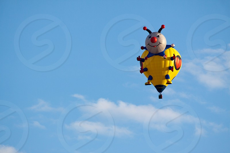 Hot Air balloon in Albuquerque New Mexico photo