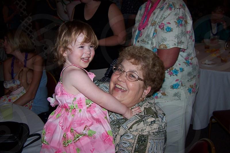 Audrey and grandma. photo