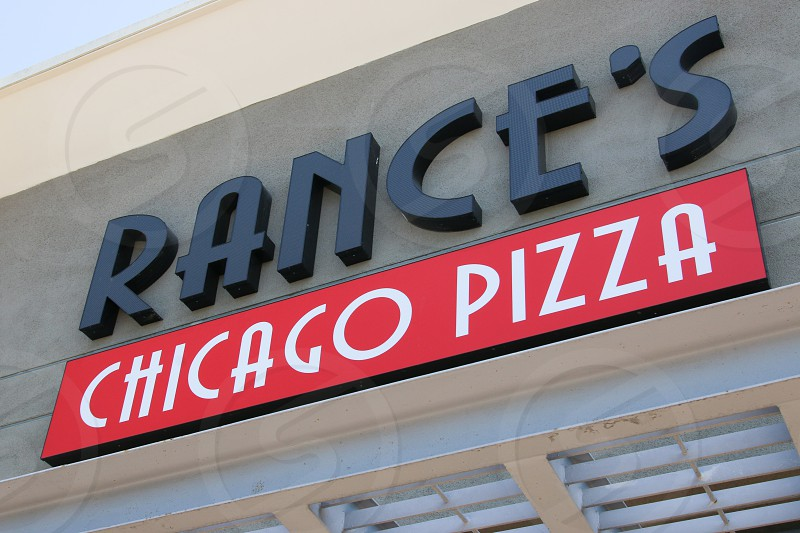 Rance's Chicago Style Pizza sign photo