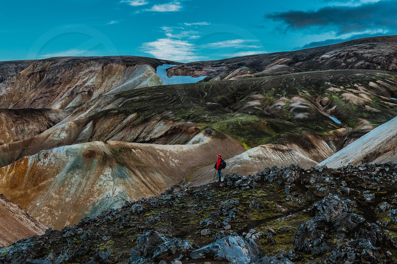 Landmannalaugar iceland photo