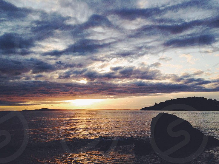 beach sunrise photo photo