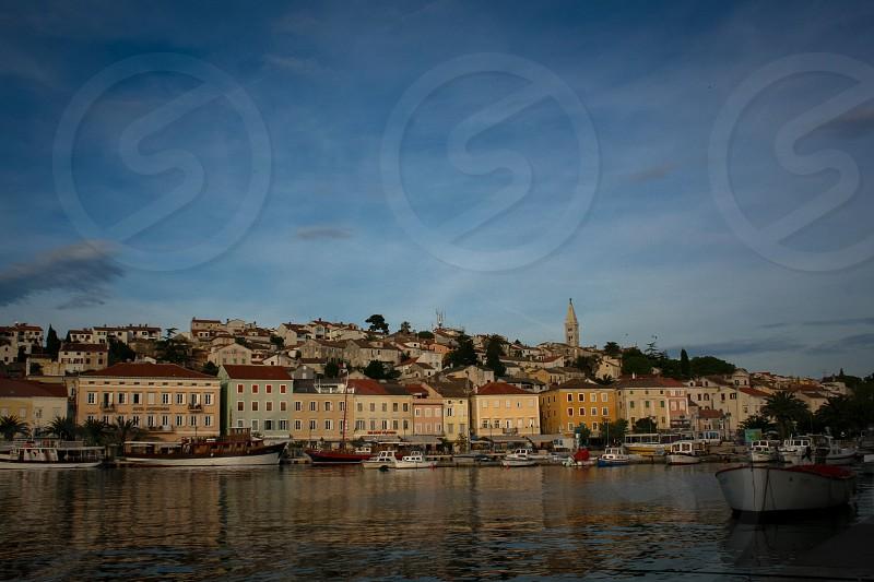 The town of Mali Losinj on the island of Losinj northern Adriatic coast of Croatia. photo