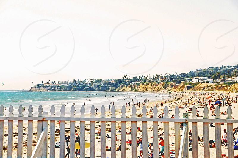 California beach  photo