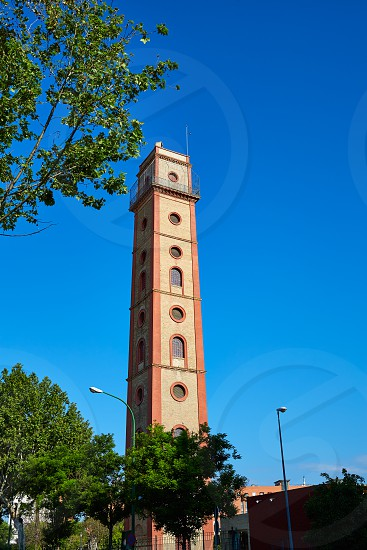 Seville Torre de los Perdigones tower in Sevilla Andalusia spain photo