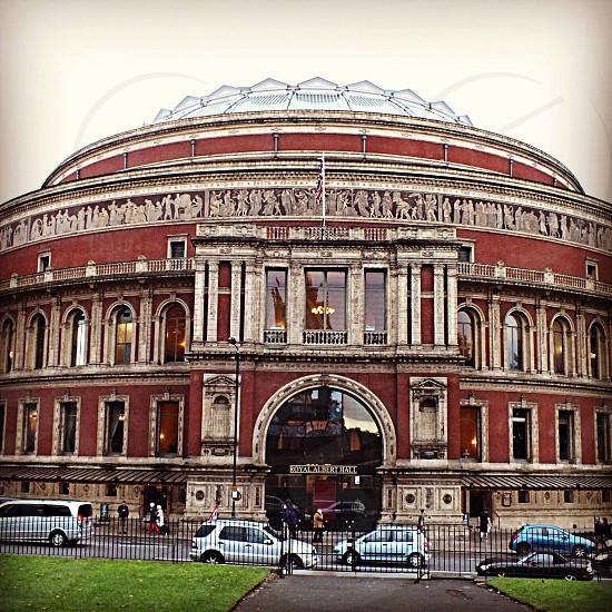The Royal Albert Hall. London.  photo
