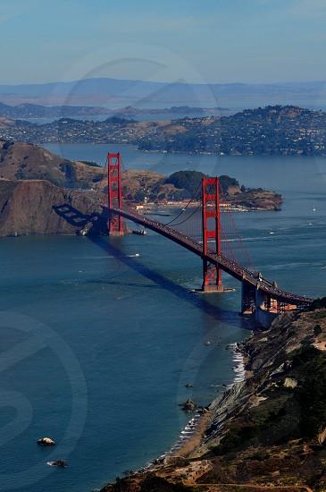 Golden Gate Bridge Aerial  photo