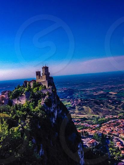Italy from san marino  photo