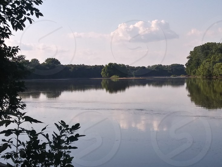 Kansas River Topeka KS photo