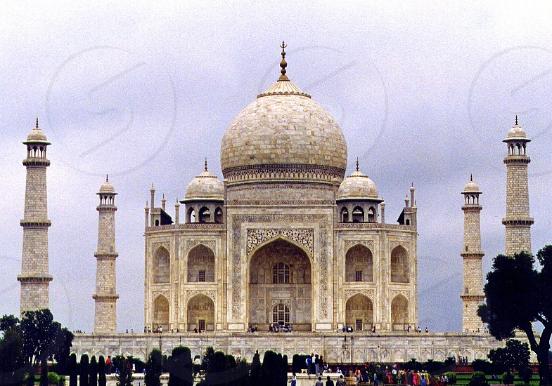 India - Agra - Taj Mahal  photo
