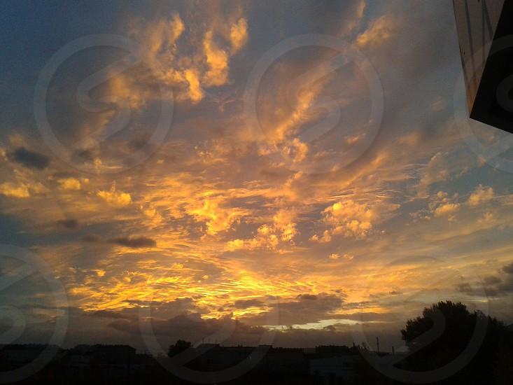 Sky on Fire photo
