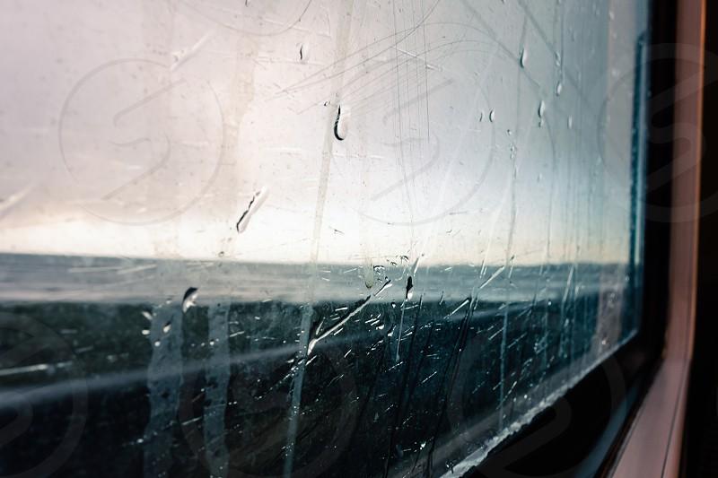 Raindrops. Ireland. photo