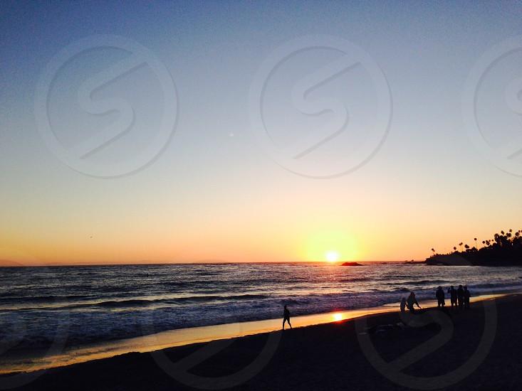 Sunset in Laguna Beach photo