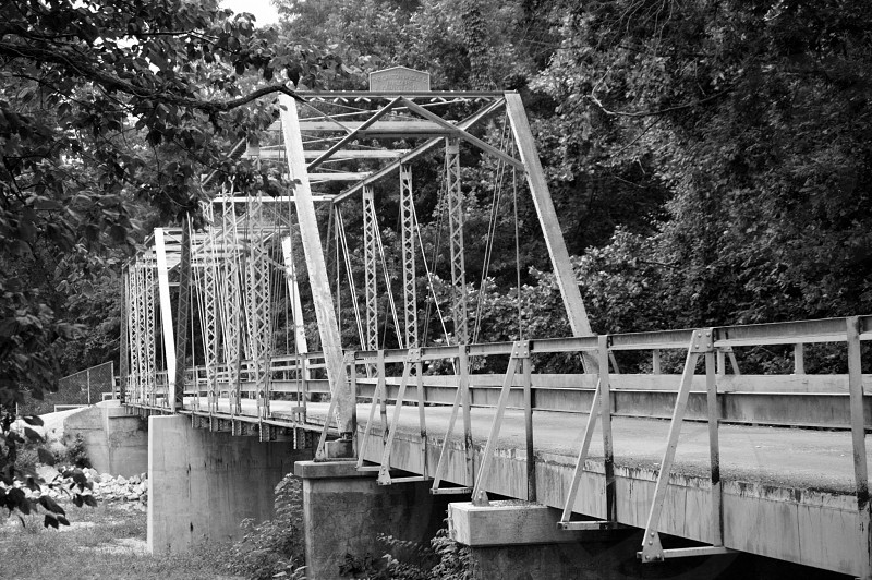 Historic Ozark Bridge photo