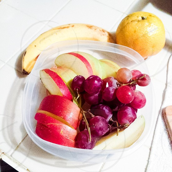 Healthy snack/fitness  photo